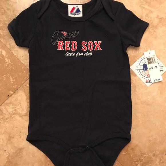 0cdb87243 MLB Majestic Boston Red Sox Bodysuit 24 Months
